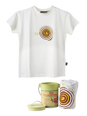 Omved Vxtk0058 White Kids T-Shirt