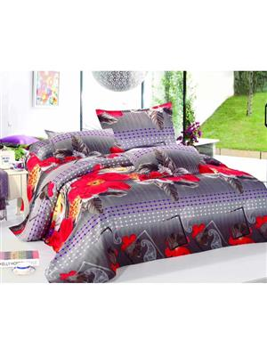 Durend Wonder DWB01 Grey Double BedSheet