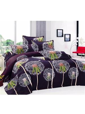Durend Wonder DWB03 Black Double BedSheet