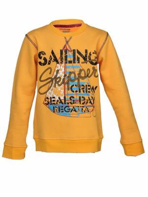 Venatici Vk14PS298 Yellow Kids Sweatshirts