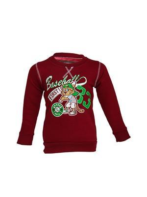 Venatici Vk14PS379 Red Kids Sweatshirts