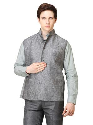 Apris WC101 Grey Men Nehru Jacket