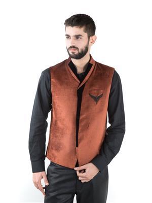 Jahanpanah WC138-12 Multicolored Men Waistcoats