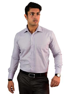 Western Closet WC14 Purple Men Formal Shirt