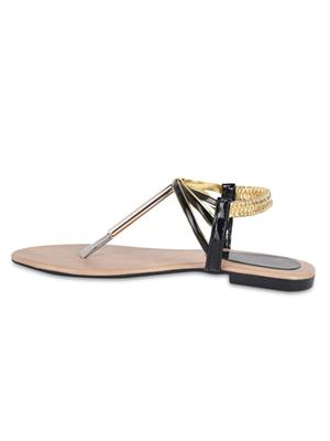 Hilly Toe G112 Black Womens Sandals