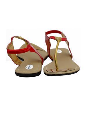 Novelty NV44 Red Womens Sandal