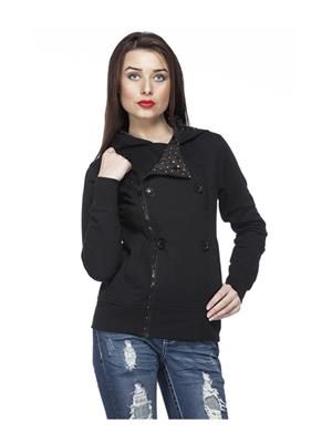 Absurd ABWS14-322 Black Women Jacket