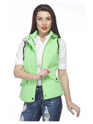 Absurd ABWS14-357 Green Women Jacket