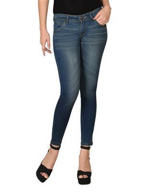 Hash 69 H176-Dusty Grey Womens Jeans