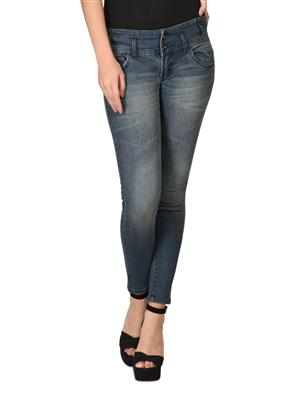 Hash 69 H178-D Grey Womens Jeans