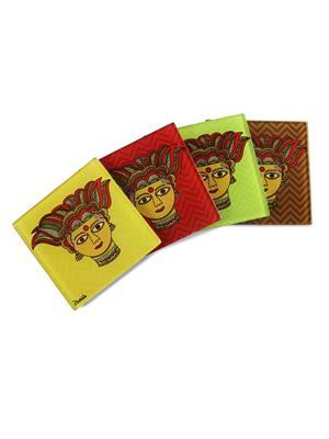 Kolorobia  WCM01Traditional Madhubani Coasters