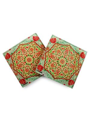 Kolorobia  WCMGL12Exquisite Mughal  Coasters
