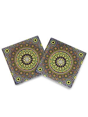 Kolorobia  WCMO10Wheeler Moroccan Coasters