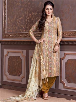 Adda Fashion LW-502 Multi Color Woolen Suit