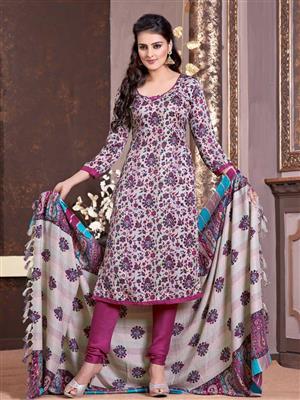 Adda Fashion LW-50 Multi Color Woolen Suit