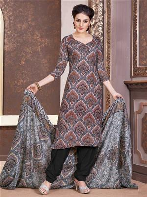 Adda Fashion LW-506 Black Woolen Suit