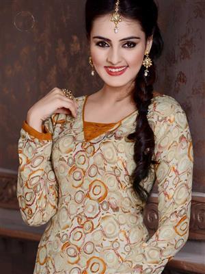 Adda Fashion LW-509 Multi Color Woolen Suit