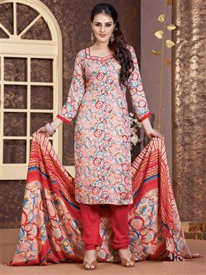Adda Fashion LW-510 Multi Color Woolen Suit