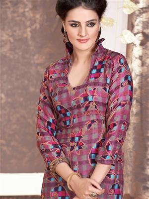 Adda Fashion LW-512 Multi Color Woolen Suit