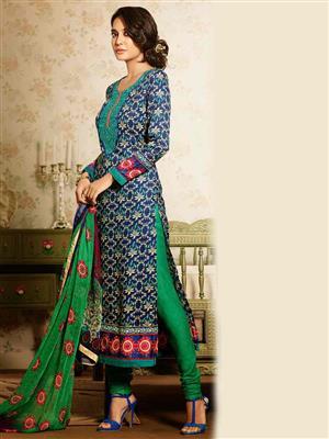 Adda Fashion MY-M6-03 Blue Woolen Suit