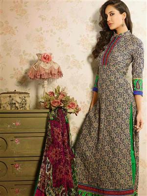 Adda Fashion MY-M6-08 Beige Woolen Suit