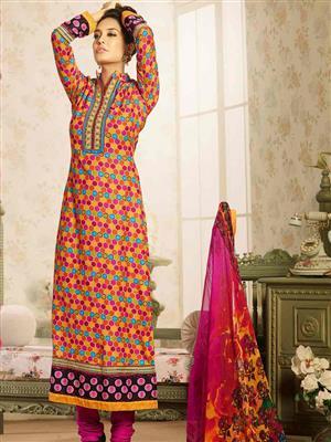 Adda Fashion MY-M6-09 Multi Color Woolen Suit