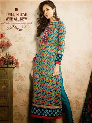 Adda Fashion MY-M6-10 Multi Color Woolen Suit