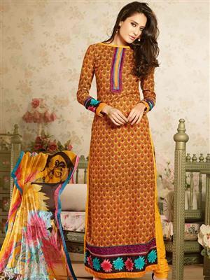 Adda Fashion MY-M6-15 Yellow Woolen Suit