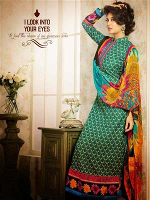Adda Fashion MY-M6-16 Multi Color Woolen Suit