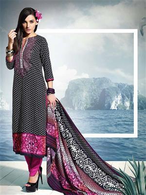 Adda Fashion SH-WR-07  Black Woolen Suit