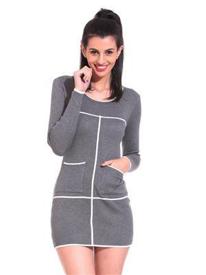 Claude 9 WD021 Grey Womens Dresses