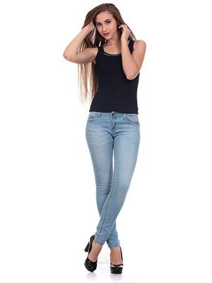 Saiints Wj001-Lightblue Women Jeans