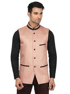 Qdesigns WJ-07 Pink Men Waist Jacket
