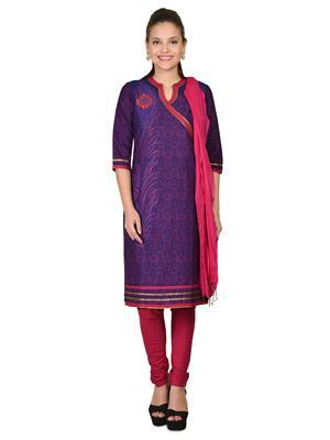 Aurelia K10275-60260 Purple Women Churidar Suit