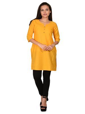 Aurelia K11267-77777 Yellow Women Kurta