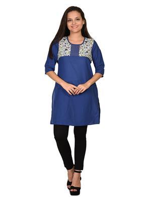 Aurelia K12054-77827 Blue Women Kurta