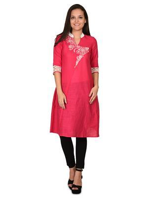 Aurelia K12076-00602 Pink Women Kurta