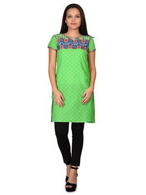 Aurelia K12142-60366  Green Women Kurta