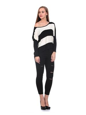 Saiints Ws008-Black Women Sweater