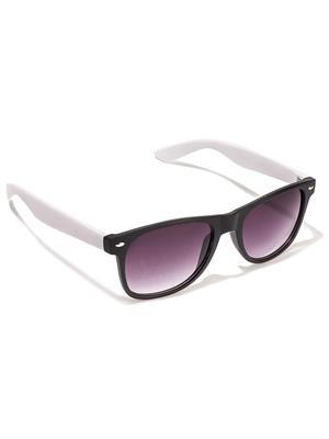 Allen Cate BlackWhiteSide Wayfarer Sunglasses