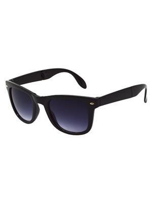 Allen Cate FoldingDSBlack Wayfarer Sunglasses