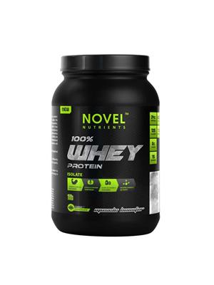 Novel Nutrients WHEY PROTEIN ISOLATE 100% 1 Lb Muscle Booster Flavour Chocolate