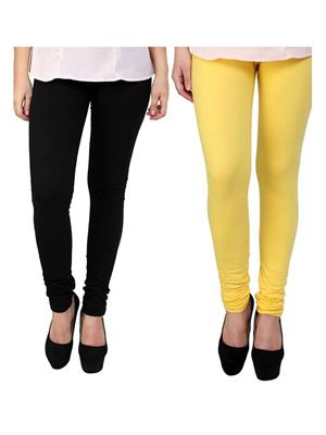 Wrab WR-258 Multicolored Women legging  Pack of 2