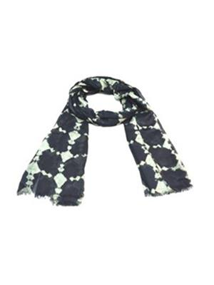 AHUJA  13 Black GREY Men Muffler