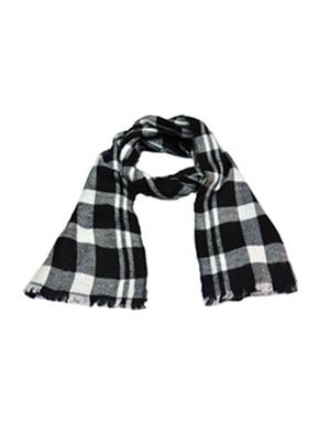 AHUJA  3 Black & White Men Muffler