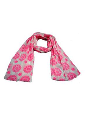 AHUJA  8 Pink White Men Muffler