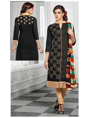Xomatic Fashion Xf34 Black Women Salwar Suit