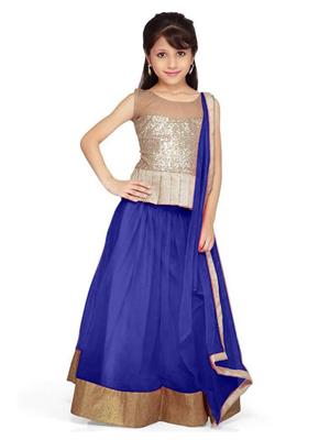 Xomantic Fashion Xfbl Blue Girl Lehenga Choli