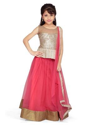 Xomantic Fashion Xfpk Pink Girl Lehenga Choli