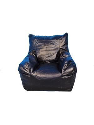 Pebbleyard XLSAC-Black_C Square Arm chair Bean Bag Cover